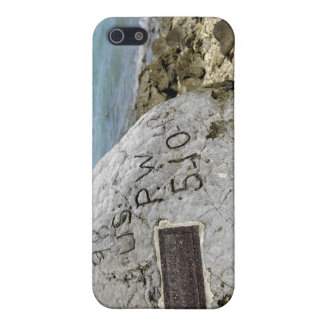 A memorial to prisoners of war on Wake Island iPhone SE/5/5s Case