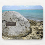 A memorial to prisoners of war on Wake Island Mouse Pad