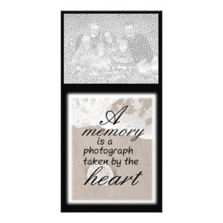 A Memory is a Photogaph Taken by the Heart Card
