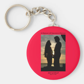 A Memory will become a Memory Basic Round Button Keychain