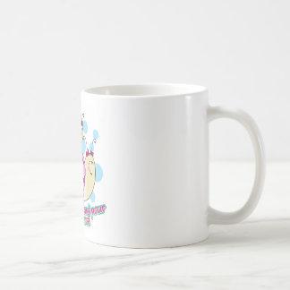 À menudo Maman de Fille Taza De Café