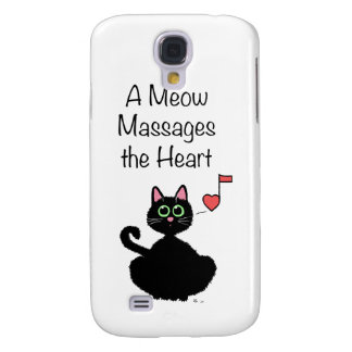 A Meow Massages the Heart Galaxy S4 Case