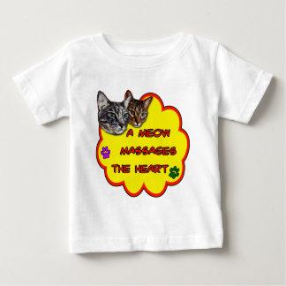 A Meow Massages The Heart Tee Shirt