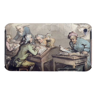 A Merchant's Office, 1789 (pen & ink and w/c over iPod Touch Case-Mate Case