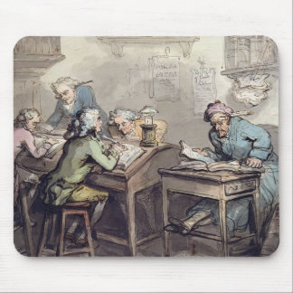 A Merchant's Office, 1789 (pen & ink and w/c over Mouse Pad