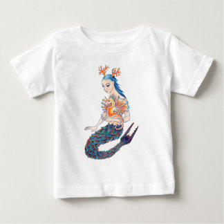 A Mermaid and her Seahorse T Shirt
