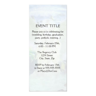 A Mermaid Changes into a Seagull 4x9.25 Paper Invitation Card