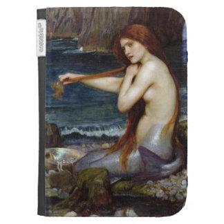 A Mermaid [John William Waterhouse] Kindle Case