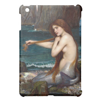A Mermaid, Waterhouse iPad Mini Cover