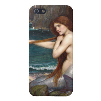 A Mermaid, Waterhouse Covers For iPhone 5