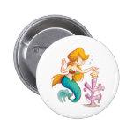 A Mermaids Christmas Pinback Button