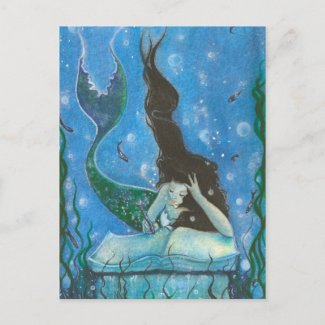 A Mermaid's Tale Postcard postcard