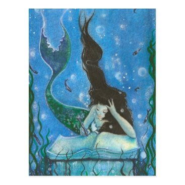 katerinaart A Mermaid's Tale Postcard