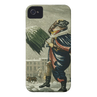 A Merry Christmas and a Happy New Year in London iPhone 4 Cases