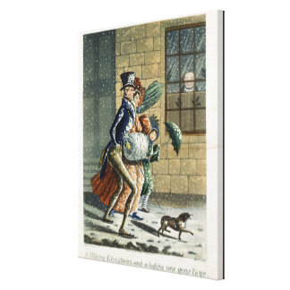 A Merry Christmas and Happy New Year to Ye, Victor Canvas Print