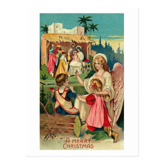 A Merry Christmas Angel Card Post Cards