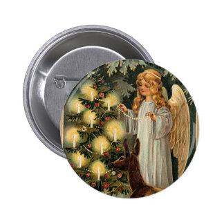 A Merry Christmas Angel Pin