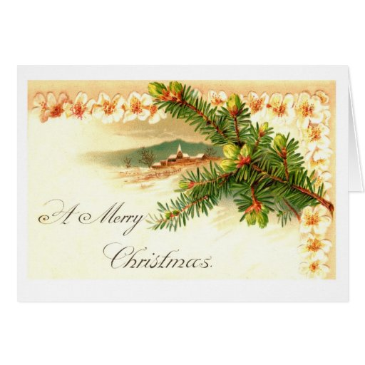 A Merry Christmas Business Greeting Card