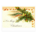 A Merry Christmas Business Holiday Postcard