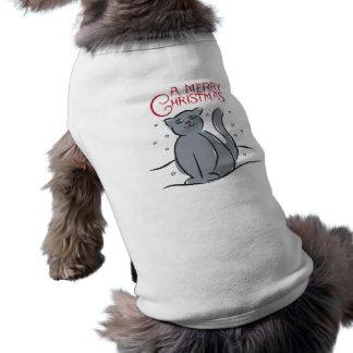 A Merry Christmas Cat Pet Shirt
