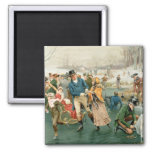 A Merry Christmas, from the Pears Annual, 1907 2 Inch Square Magnet