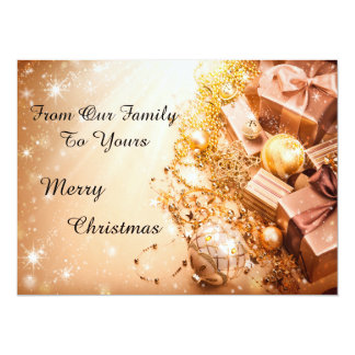 A Merry Christmas Holiday Photo Card