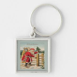 A Merry Christmas Keychain