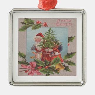A Merry Christmas Metal Ornament