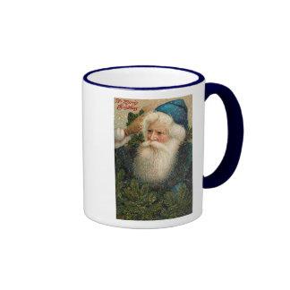 A Merry Christmas Old St. Nick Card Mug