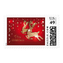 A Merry Christmas Postage