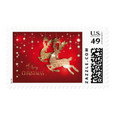 A Merry Christmas Postage at Zazzle