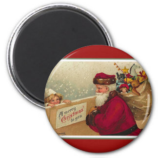 A Merry Christmas to YOU ! 2 Inch Round Magnet