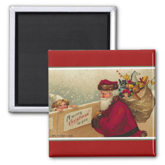 A Merry Christmas to YOU ! 2 Inch Square Magnet