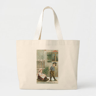A Merry Christmas to You! Large Tote Bag