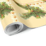 A Merry Christmas Vintage Wrapping Paper