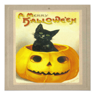 A Merry Hallowe'en Card