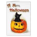 A Merry Halloween Card