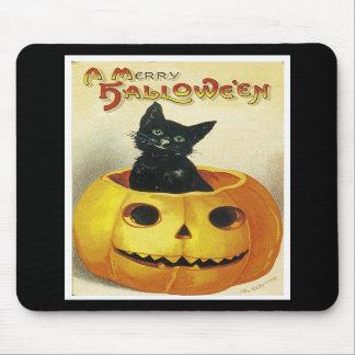 A Merry Haloween Kitten Mousepad