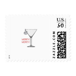 A Merry Holiday Stamp