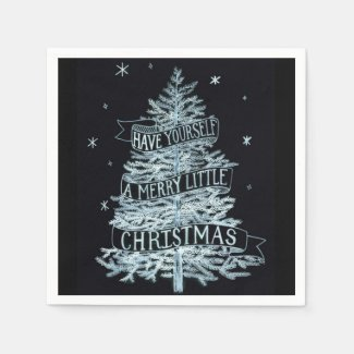 A Merry Little Christmas Paper Napkins, 2 pack