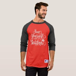 A Merry Little Christmas   Raglan Shirt
