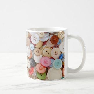 A Mess of Buttons Coffee Mug