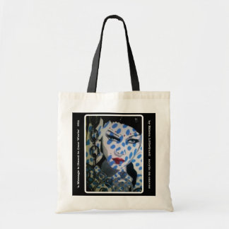 'a Messag is Heard in the Gear Works' Canvas Bag