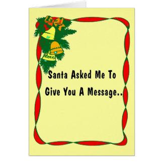 A Message Card