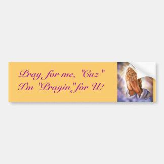 A message for life! bumper sticker