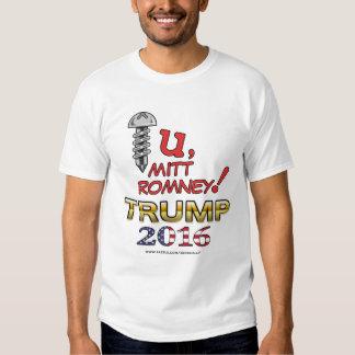 A Message for Romney 2016 shirt (light)