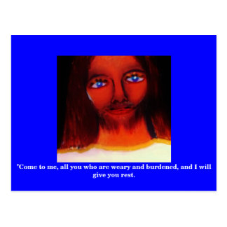 A MESSAGE FROM GOD (CHRIST IN YOU) POSTCARD