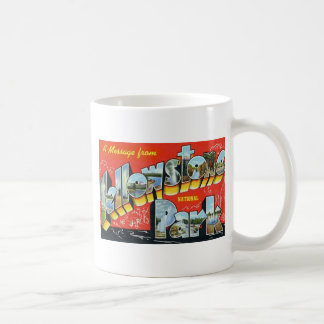 A Message from Yellowstone National Park Mug