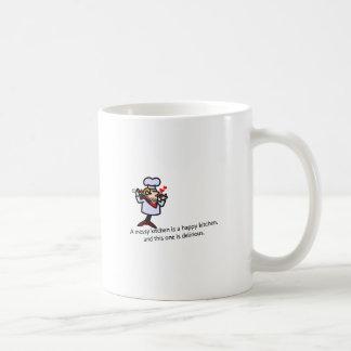A Messy Kitchen Coffee Mug