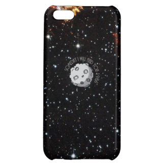 A Meteor in the space cartoon Cover For iPhone 5C